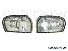 Crystal Clear Corner Lights Lamps 1995-2000 E-MARK For SUBARU IMPREZA GC8 CC8C