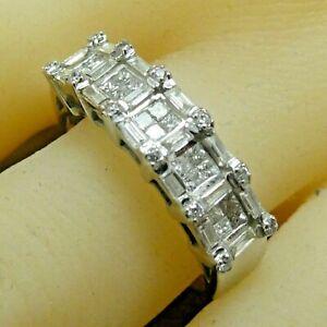 18k White Gold Diamond 0.60 ct TDW G SI1 Ring Size 9