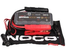 NOCO GB70 Genius Boost HD 2000A 12V UltraSafe Lithium Jump Starter