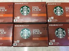 Starbucks Pike Place Roast Medium Coffee, Keurig K Cups 60 Ct