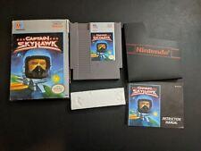 Captain Skyhawk MO Authentique Nintendo Nes Exmt État Complet N Boîte