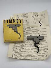 #1 Timney M91-4K M91 4K Trigger Assembly Vintage Swedish Mauser M94-G33/50