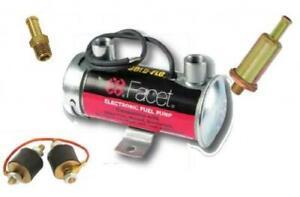 Facet Silver Top Kraftstoffpumpe elekrisch Vergaser - Komplettset mit Filter un