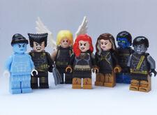 Custom - Ultimate X-Men Team x7 - Marvel Superheroes wolverine minifigures lego
