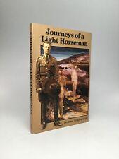 Andrew Shepherdson / Journeys Of A Light Horseman Signed 1st Edition 2002