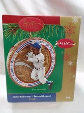 Carlton Cards Heirloom Collection Jackie Robinson Baseball Legend has Sound