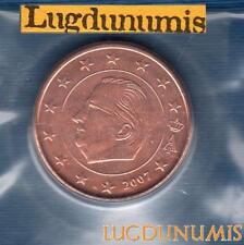 Belgique - 2007 - 5 centimes d'euro FDC provenant coffret BU 40000 exemplaires -