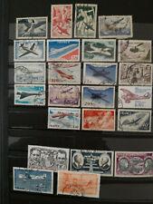 Lot de  Timbres de FRANCE  poste aérienne