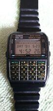 Casio DBC-62 Vintage Telememo Databank Calculator LCD Digital Watch