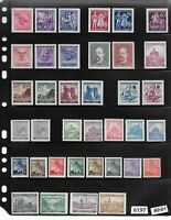 #6197   MNH stamp set / Regular postage  / WWII Germany Occupation / Third Reich