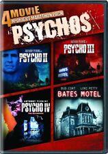 4 Movie Midnight Marathon Pack Psychos New Dvd Psycho 2 3 4 Bates Motel