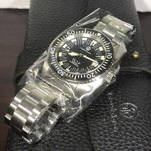 TACTICO TC1.2 by Crepas Men's Diver Automatic 24J Bracelet Watch WR500m Ø43mm