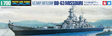 Tamiya 31613 1/700 Scale Model Kit US Navy Battleship USS Missouri BB-63
