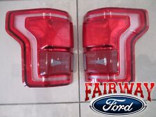 15 thru 17 F-150 OEM Ford Pair of Tail Lamps Lights LH & RH LED w/ Blind Spot