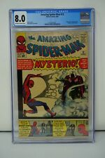 MARVEL COMICS CGC 8.0 THE AMAZING SPIDER MAN 13 6/64 OFF-WHITE TO WHITE PAGES