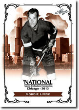 GORDIE HOWE - Mr. Hockey - 2013 Leaf National Convention PROMOTIONAL Hockey Card