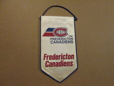 AHL The Fredericton Canadiens Vintage Defunct Banner Hockey Pennant