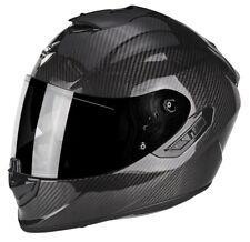 Casco integrale moto fibra Scorpion Exo 1400 Carbon air lucido