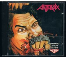 ANTHRAX FISTFUL  OF METAL  CD ARMANDO CURCIO ED.