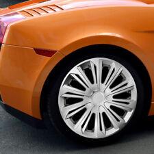 "SET of 4 HUB CAPS, Wheel Trims - Universal ABS Push-In 14"" 15"" 16"" [076-078]"