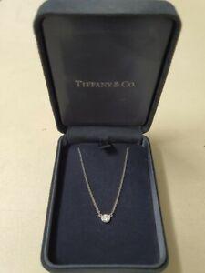 Tiffany & Co Elsa Peretti Platinum Diamond Necklace