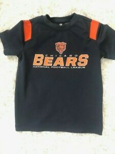 NFL Team Apparel Chicago Bears Youth Kids Shirt Size XS (5)