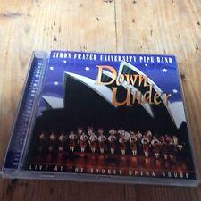 Simon Fraser : Down Under: Live at the Sydney Opera House 2001 CD