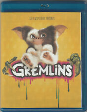 GREMLINS (2020 Blu-ray (1984) In a Blu-ray Case with a Photocopy of the Artwork