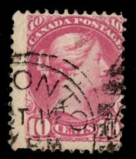 #40a Small Queen 10c Canada used