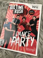 Big Time Rush Dance Party - Nintendo Wii video game DISC