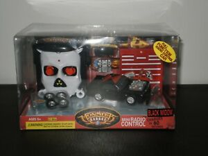 MONSTER GARAGE MINI RADIO CONTROL BLACK WIDOW DISCOVERY CHANNEL 2004