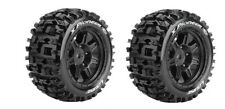 Louise RC X-PIONEER Sport-Reifen Felge schwarz TRAXXAS X-MAXX 1:5 Hex24mm (2)