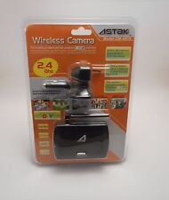 Astak 2.4GHz Wireless Mini Spy Surveillance Hidden Pinhole Color Camera CM-A815