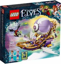 LEGO ELVES 41184 THE BOAT FLYING BY AIRA AND PURSUIT OF THE'AMULET NEW