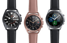 Samsung Galaxy Watch3 SM-R845 LTE GPS Unlocked  Stainless Leather