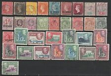 Old Stamps Collection from British colonies - St. Vincent!