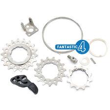 Ti Parts Workshop Titanium Rear Cassette 2 speed to 3 speed Upgrade set Brompton