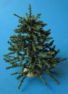 Weihnachtsbaum mit Ständer weihnachtliche Deko Puppenhaus Miniatur 1:12