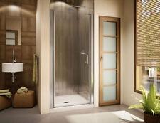 "FLEURCO BANYO SEVILLA SHOWER DOOR 23"" - 25"" x 70"" H 1/4"" GLASS FRAMELESS"