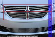 GTG 2011 - 2016 Dodge Grand Caravan 4PC Polished Overlay Billet Grille Grill Kit