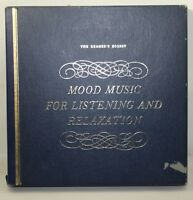 MOOD MUSIC FOR LISTENING & RELAXATION - Readers Digest 12 LP Box Set- PL-3967