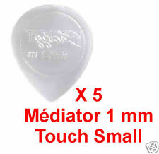 5 Médiators Taille 1 mm Transparent Touch Small