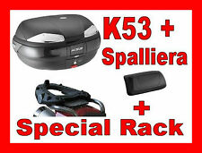 BMW R 1150 GS 2000-2003 KOFFER BAULETTO K53N + CHASSIS SR694 + SPALIER K612