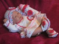 Honeydropdesigns * Dolly Mixtures * PAPER KNITTING PATTERN * Baby/Reborn