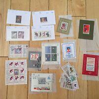 G30 LOT Yugoslavia Stamps loose and souvenir Jugoslavia Olympics Science Soccer