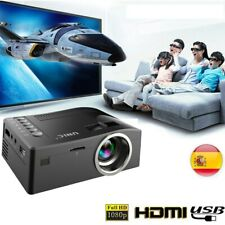 Mini Proyectores de Home Cinema Full HD 1080P Cinema USB HDMI Tarjeta SD video