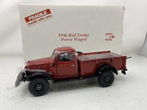 1/24 Danbury Mint 1946 Dodge Power Wagon Pickup Red RARE READ ME
