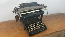 COLLECTIBLE TYPEWRITER REMINGTON 8 FROM 1899 #822 - NO RISK WITH SHIPPING