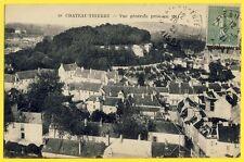 cpa 02 - CHATEAU THIERRY (Aisne) Vue Générale prise en 1914 de MALFANT à FLIPO