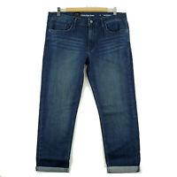 Calvin Klein Women's Slim Boyfriend Jeans, Size 12, Inkwell